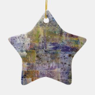 fondo abstracto de la pintura adorno de cerámica