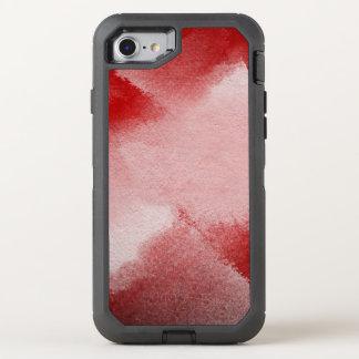 fondo abstracto de la pintura funda OtterBox defender para iPhone 7