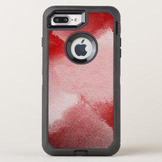 fondo abstracto de la pintura funda OtterBox defender para iPhone 8 plus/7 plus
