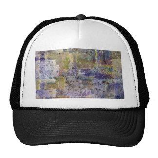fondo abstracto de la pintura gorra