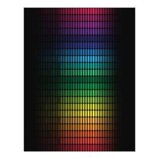 Fondo abstracto folleto 21,6 x 28 cm