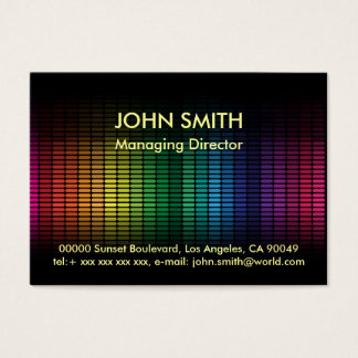 Fondo abstracto tarjeta de negocios