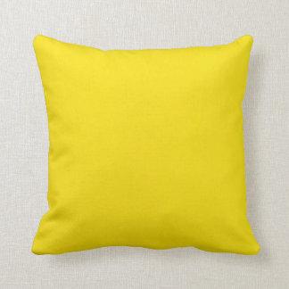 Fondo amarillo cojín decorativo