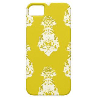 Fondo amarillo del vintage funda para iPhone SE/5/5s