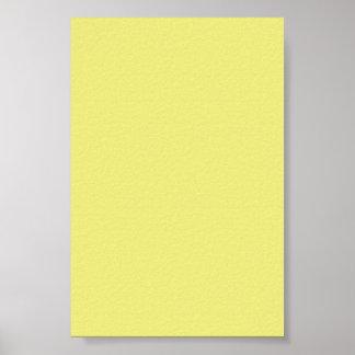 Fondo amarillo en colores pastel en un poster
