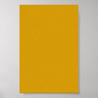 Fondo amarillo-naranja de oro en un poster