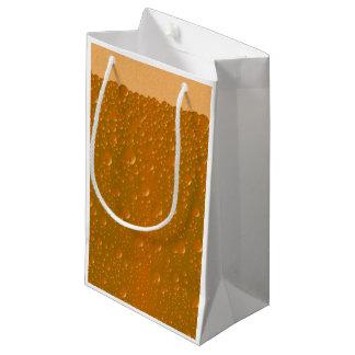 Fondo anaranjado de Bibble de la sombra Bolsa De Regalo Pequeña