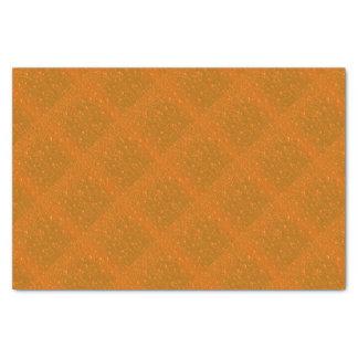 Fondo anaranjado de Bibble de la sombra Papel De Seda