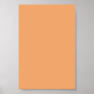 Fondo anaranjado en colores pastel en un poster