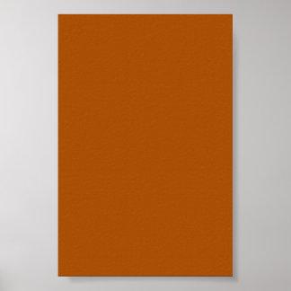 Fondo anaranjado quemado en un poster