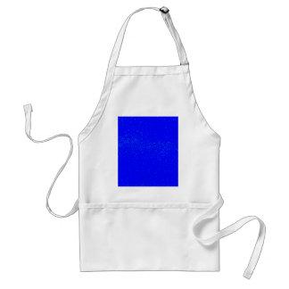 Fondo azul de la mancha delantal