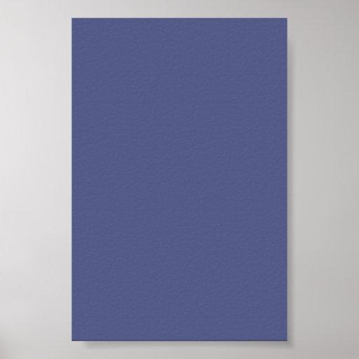Fondo azul del país en un poster