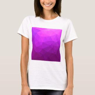 Fondo bajo abstracto púrpura bizantino del camiseta