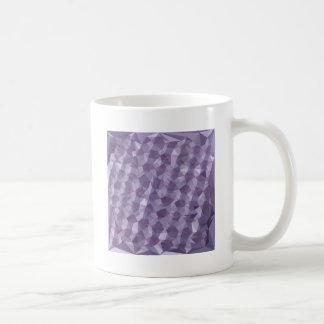 Fondo bajo del polígono del extracto oscuro de la taza de café