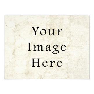 Fondo blanco de papel de pergamino del yeso del vi impresion fotografica
