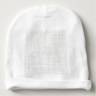 Fondo blanco del efecto del Grunge Gorrito Para Bebe