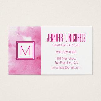 fondo colorido de la acuarela para sus 2 3 tarjeta de negocios