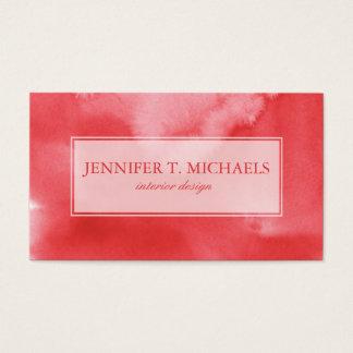 fondo colorido de la acuarela para sus 3 2 tarjeta de negocios