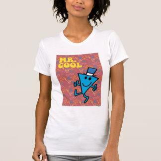 Fondo colorido de Sr. Cool el   Camiseta