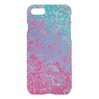 fondo corroído colorido del caso del iPhone 7 Funda Para iPhone 7