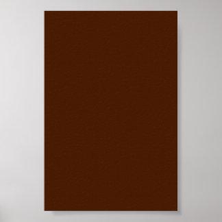 Fondo de Borwn del chocolate en un poster