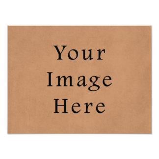 Fondo de cuero del papel de pergamino de Brown del Arte Con Fotos
