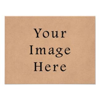 Fondo de cuero del papel de pergamino de Brown del Fotografia
