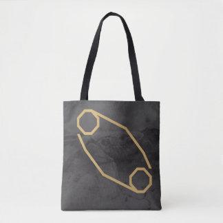Fondo de encargo de la muestra el | del zodiaco bolso de tela
