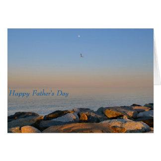 fondo de la bahía de Chesapeake de la tarjeta del