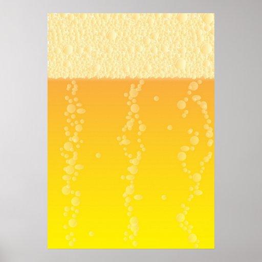 Fondo de la cerveza impresiones