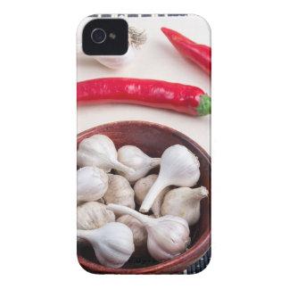 Fondo de la especia para cocinar funda para iPhone 4