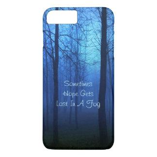 Fondo de la niebla del bosque de la vida de la funda iPhone 7 plus