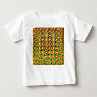 Fondo de la piedra preciosa camiseta de bebé