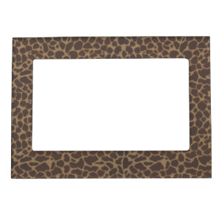 Fondo de la piel del modelo de la jirafa marcos magnéticos