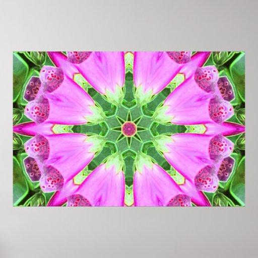 Fondo de las flores impresiones