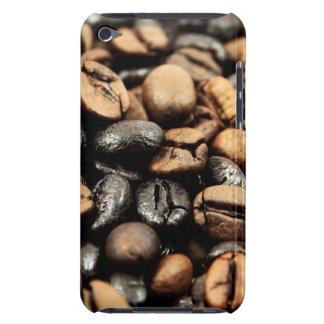 Fondo de los granos de café carcasa para iPod