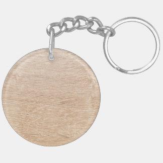Fondo de madera llavero