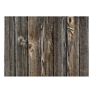 Fondo de madera tarjetas de visita grandes