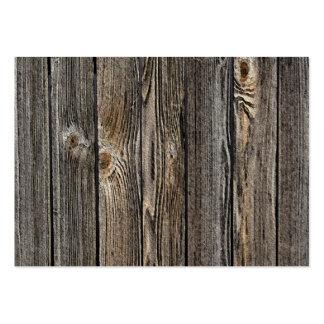 Fondo de madera tarjeta de visita