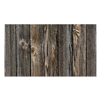 Fondo de madera tarjetas de visita