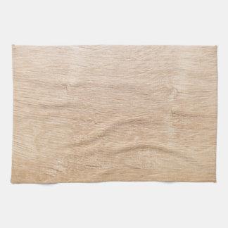 Fondo de madera toalla de cocina