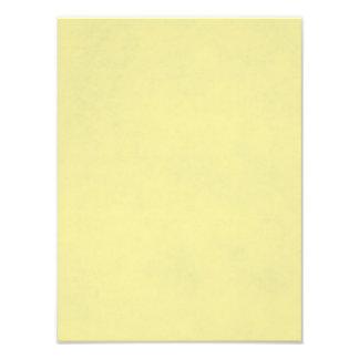 Fondo de papel amarillo claro del pergamino del impresión fotográfica