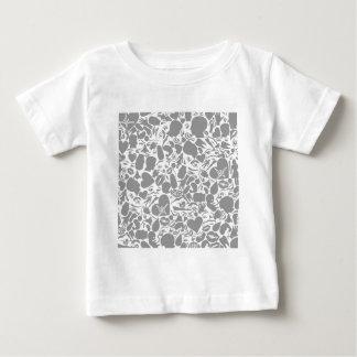 Fondo de una parte de un cuerpo camiseta de bebé