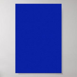 Fondo del azul real en un poster