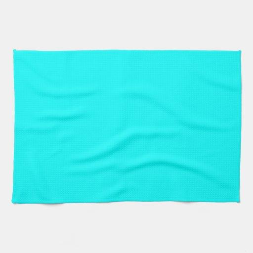 Fondo del color de la aguamarina toalla zazzle for Color aguamarina
