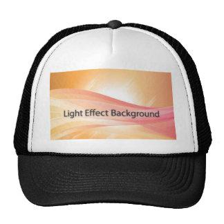 Fondo del efecto luminoso gorro