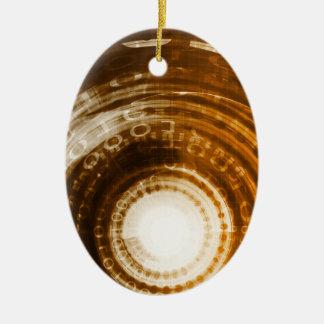 Fondo del extracto de los datos binarios para adorno de cerámica