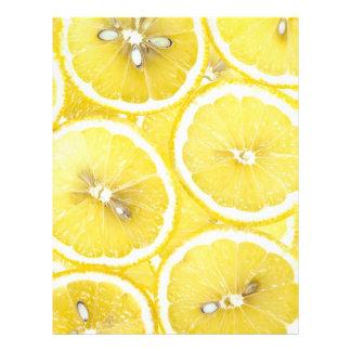 Fondo del limón folleto 21,6 x 28 cm