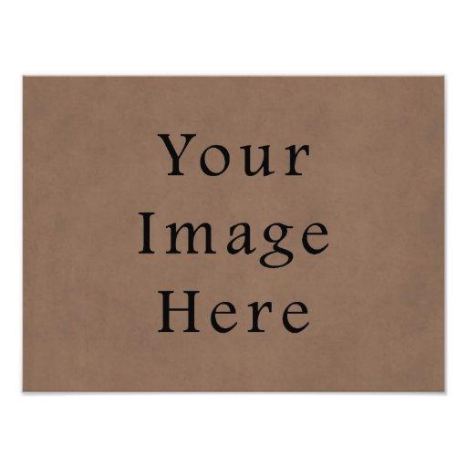 Fondo del papel de pergamino de Brown del ante del Impresiones Fotograficas