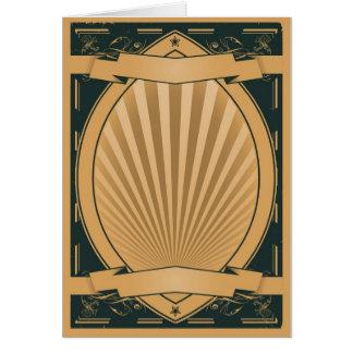 Fondo del poster de las cintas del vintage tarjeta de felicitación